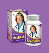 BoniDiabet sản phẩm hỗ trợ  tiểu đường